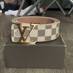 Louis Vuitton Belt Initiales